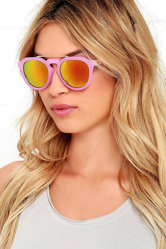 Orange Mirrored Sunglasses  cute pink sunglasses mirrored sunglasses rose gold sunglasses