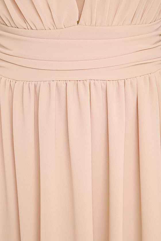 Heavenly Hues Blush Maxi Dress 7
