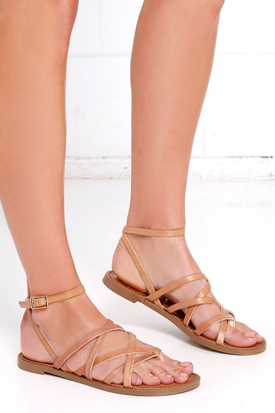 7e14fa789 Chinese Laundry Gia - Tan Sandals - Thong Sandals -  70.00