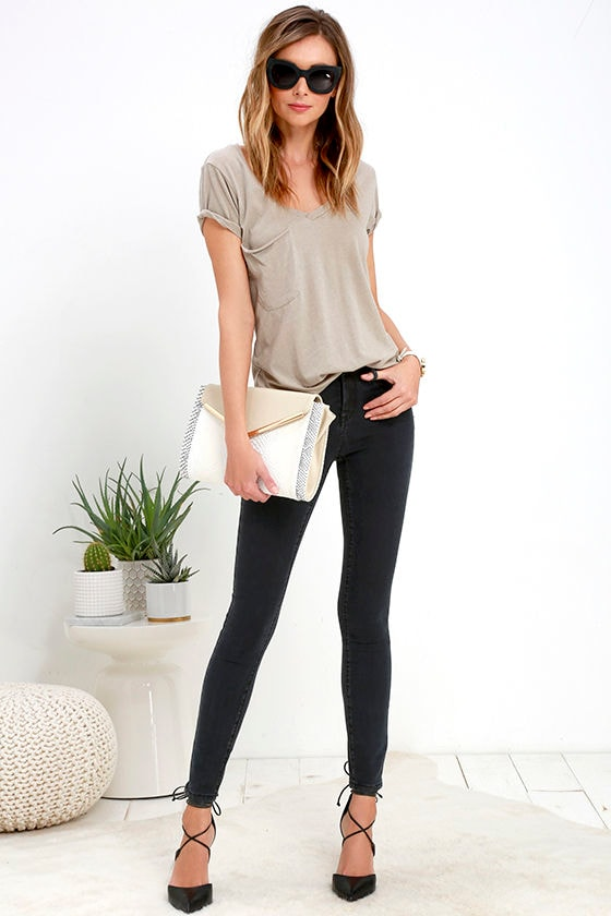 113c2b0eb4b7 Blank NYC Cry Baby - Washed Black Jeans - Skinny Jeans - $79.00