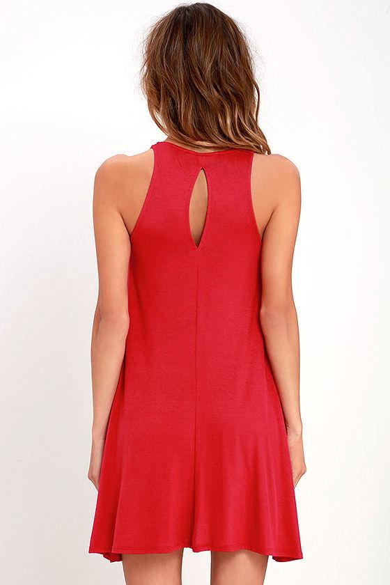 Tupelo Honey Berry Red Dress 4