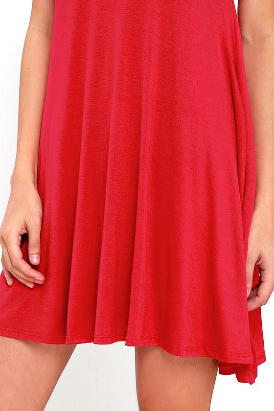Tupelo Honey Berry Red Dress 5