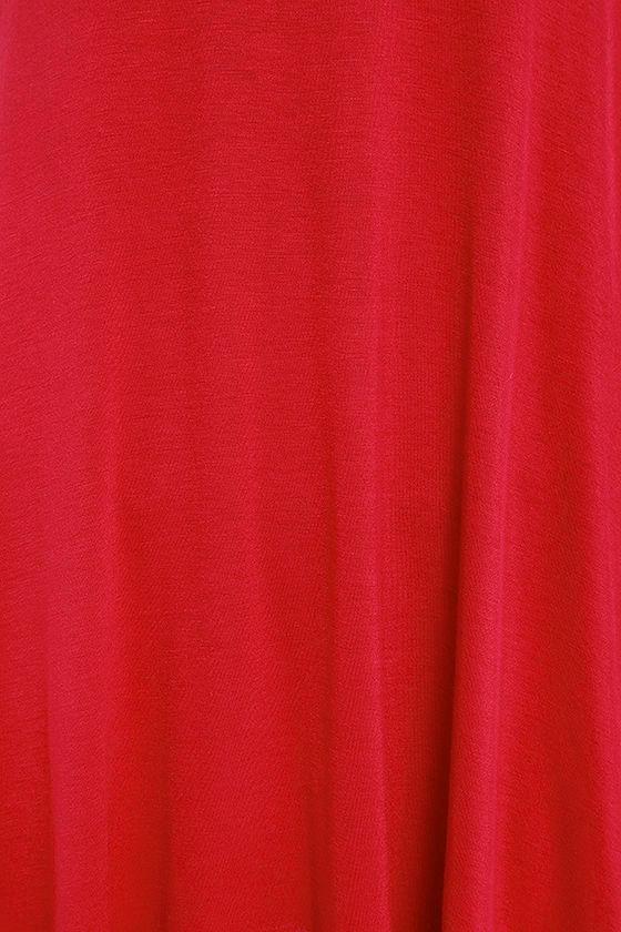 Tupelo Honey Berry Red Dress 6