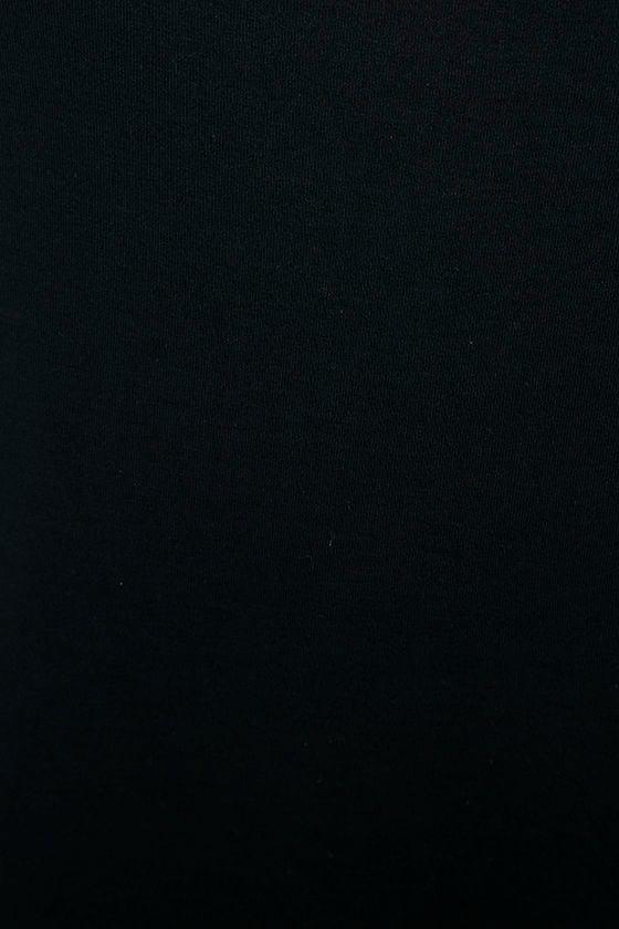 RVCA Zavey Black Shift Dress 6