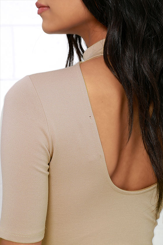 Whenever Wear-ever Beige Bodysuit 6
