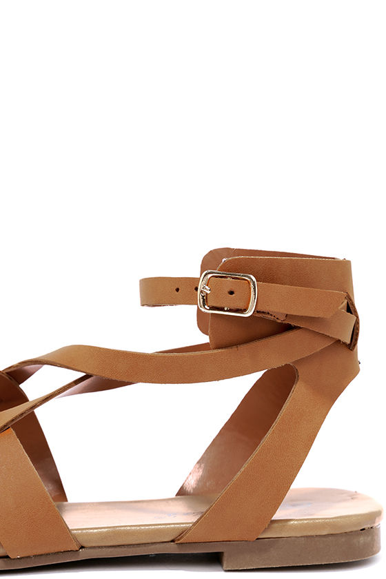 Boho Babe Tan Thong Sandals 7