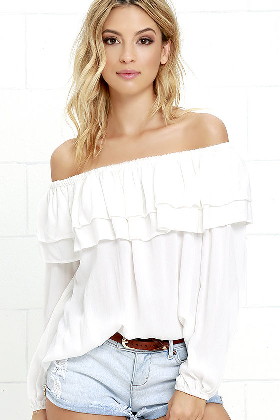 how to keep off shoulder top stay