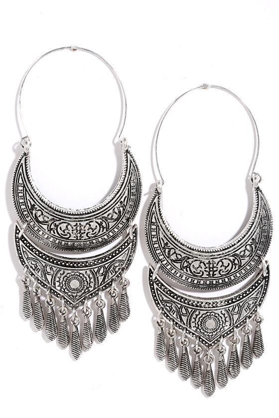 20b8297f34869 Metal Muse Silver Earrings
