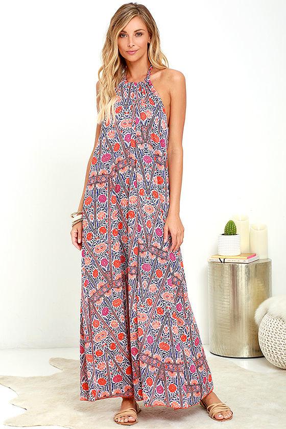 Halter Maxi Dresses