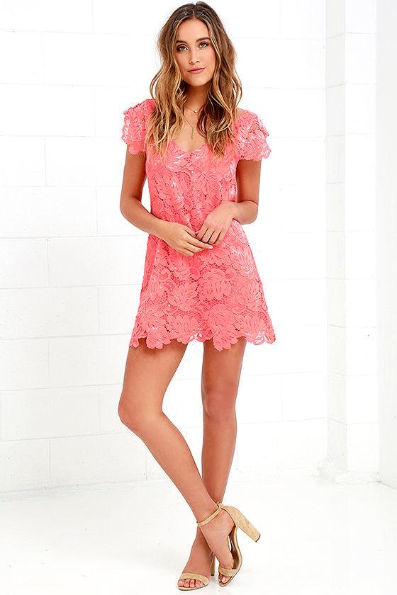 5bc07e27a35 BB Dakota Jacqueline - Lace Dress - Shift Dress -  83.00