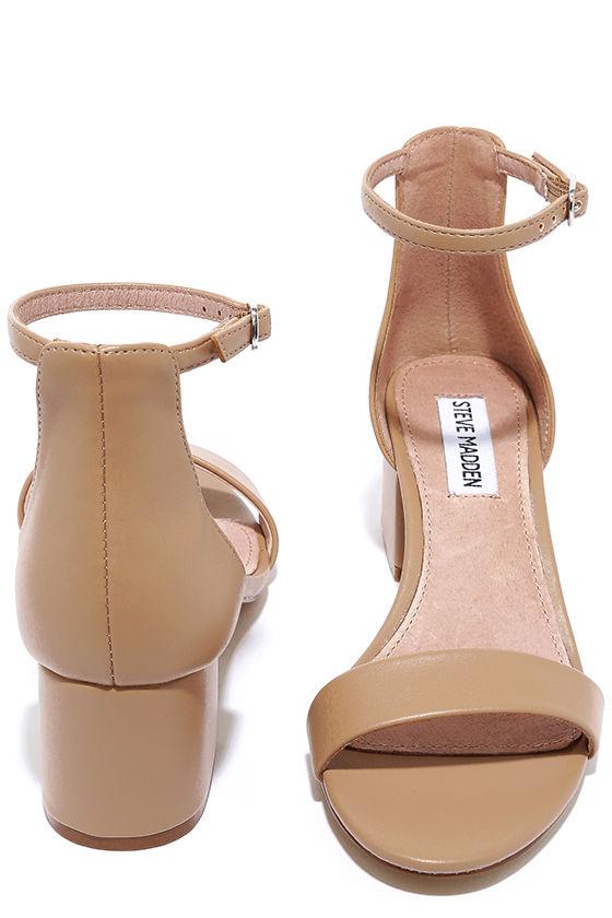 5ef2649f55d Cute Blush Heels - Ankle Strap Heels - Heeled Sandals -  79.00