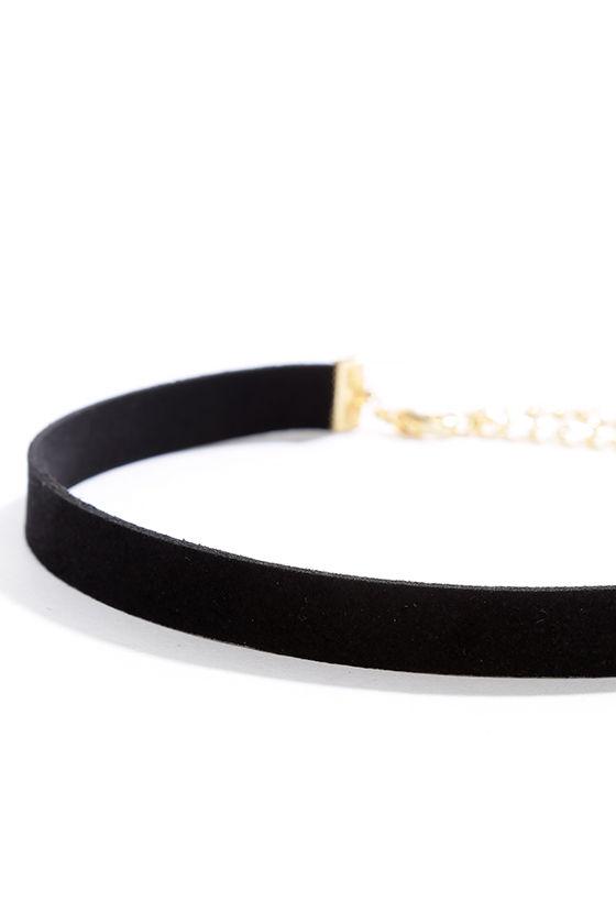 Day of Zest Black Choker Necklace 3
