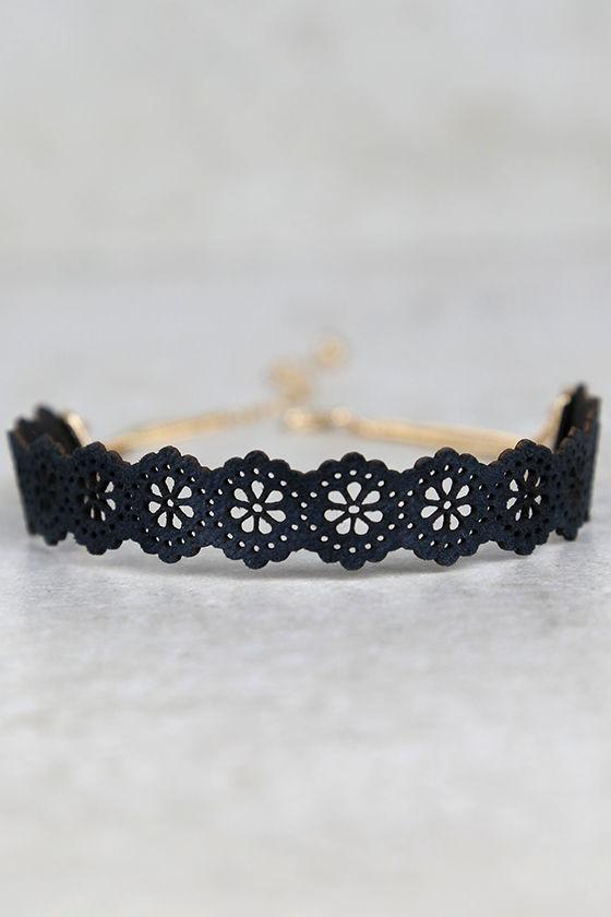 How Do You Do? Black Choker Necklace 2