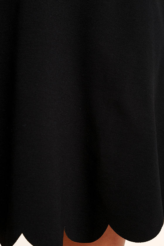 Proof of Perfection Black Skater Dress 6