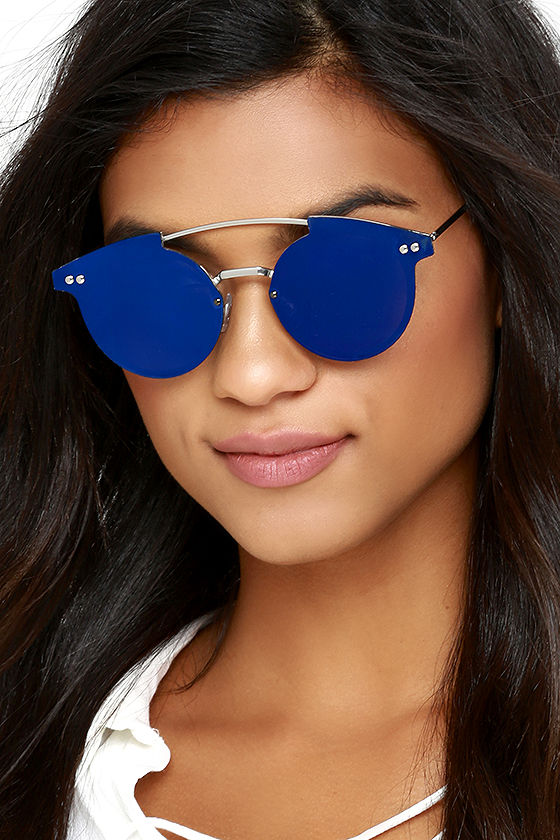Spitfire Trip Hop Blue Mirrored Sunglasses 2