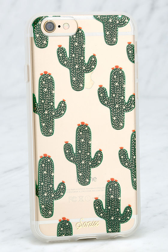 best service 44278 3a2dc Sonix Saguaro Green Cactus iPhone 6 and 6s Case