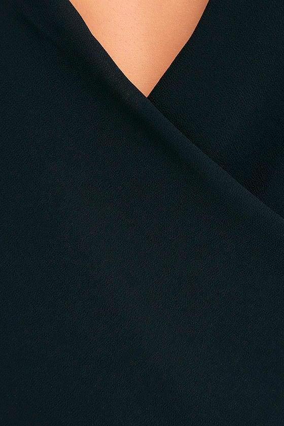 Well Dressed Black Bodysuit 8