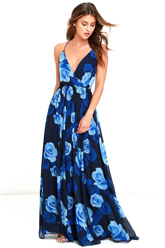 Blue dress lulus 20