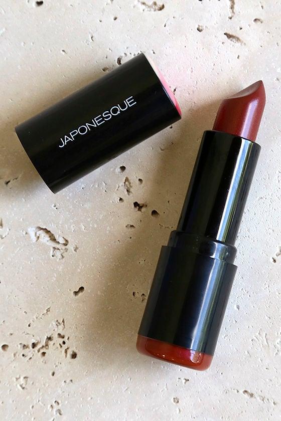 Japonesque 07 Brick Red Pro Performance Lipstick 1