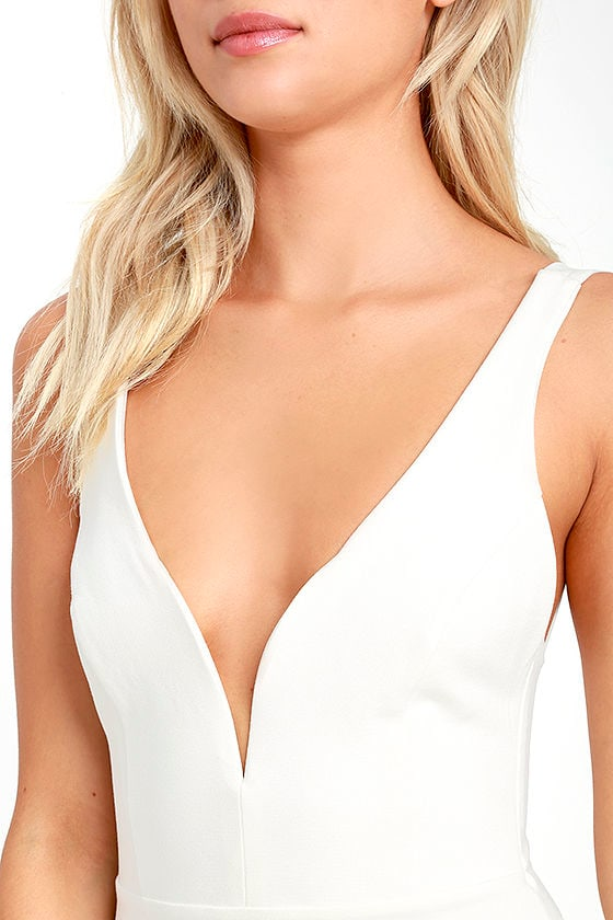 Perfect Pick White Bodycon Dress 5