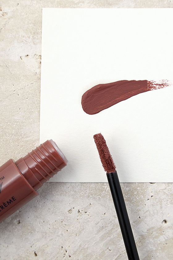 NYX Soft Spoken Mauve Liquid Suede Cream Lipstick 2