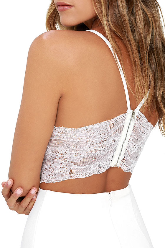 Perfect Evening Ivory Lace Skater Dress 5