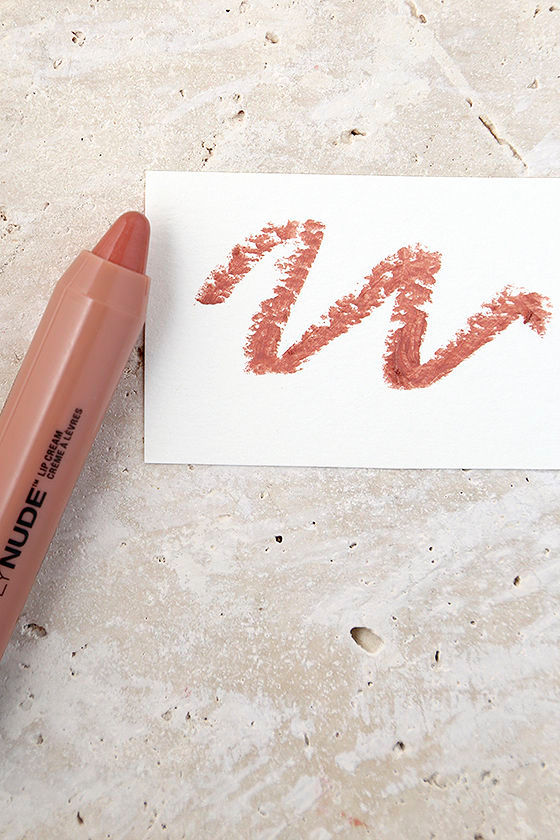NYX Disrobed Dark Nude Simply Nude Lip Cream 1