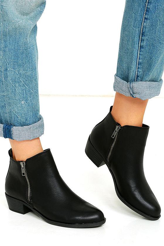 Madden Girl Boleroo - Black Ankle