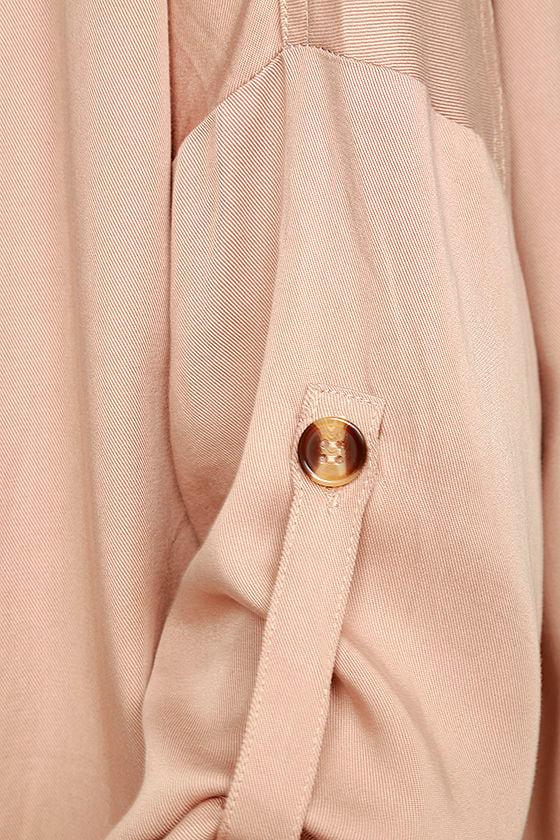 Lucky Break Blush Oversized Jacket 7