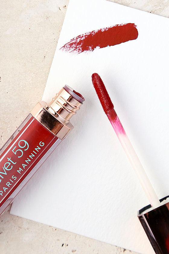 Velvet 59 Matte to the Max Gigi Red Liquid Lipstick 1