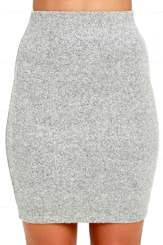Arabesque Heather Grey Two-Piece Dress 6