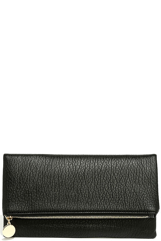 Get Up and Go Black Clutch 2