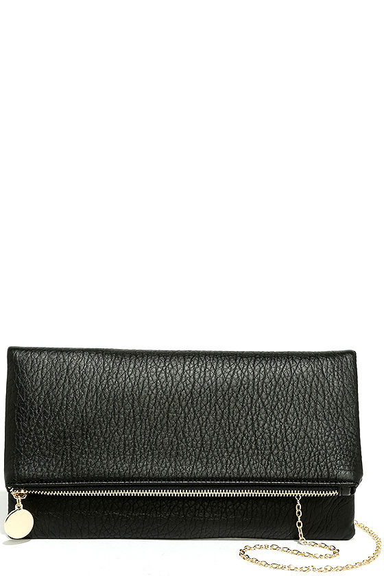 Get Up and Go Black Clutch 3