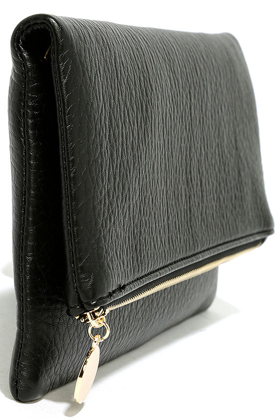 Get Up and Go Black Clutch 4