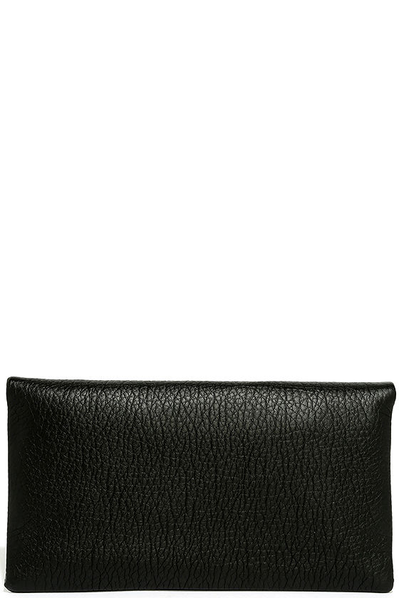 Get Up and Go Black Clutch 5