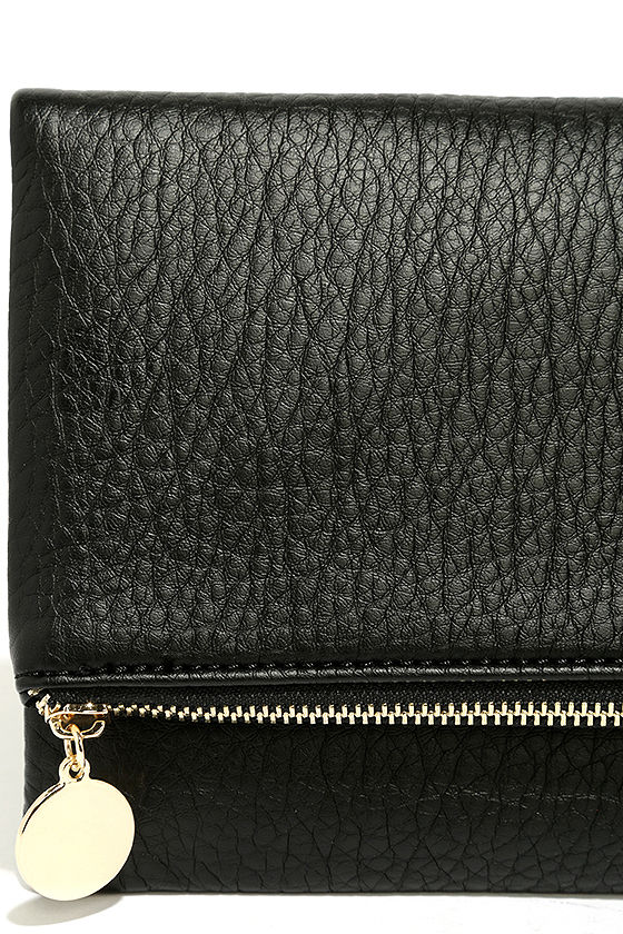 Get Up and Go Black Clutch 6