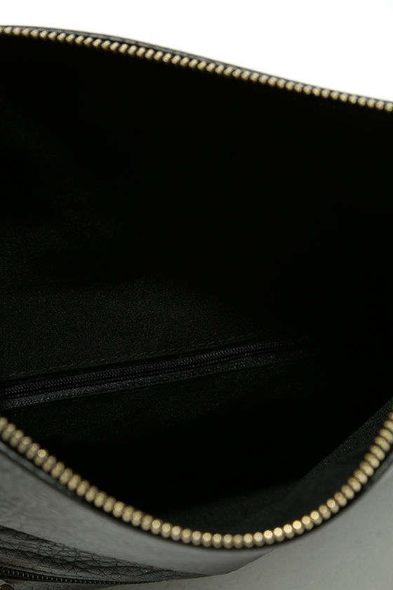 Get Up and Go Black Clutch 7