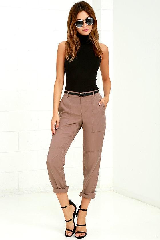 e973060a4a Gentle Fawn Lucy Pants - Mauve Pants - Jogger Pants - Casual Pants - $89.00