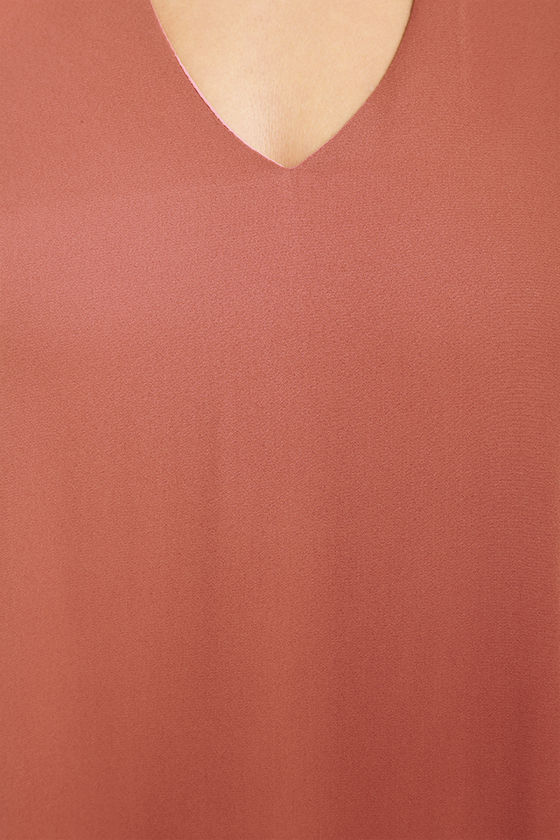 Groove Thing Rusty Rose Swing Dress 7