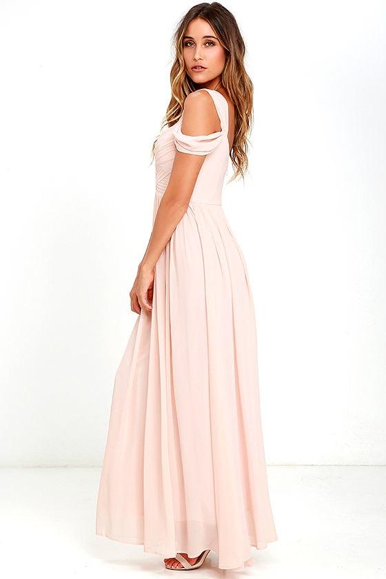 Make Me Move Blush Pink Maxi Dress 2