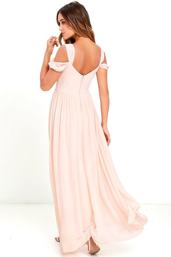 Make Me Move Blush Pink Maxi Dress 3