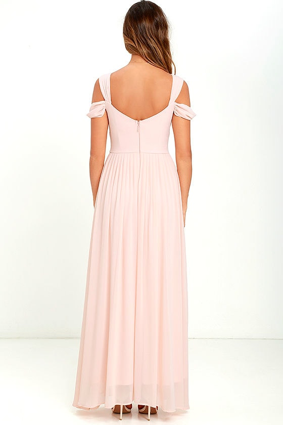 Make Me Move Blush Pink Maxi Dress 4