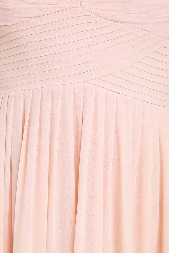 Make Me Move Blush Pink Maxi Dress 6