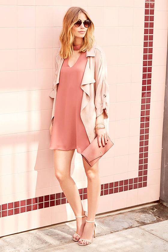 Groove Thing Rusty Rose Swing Dress 2