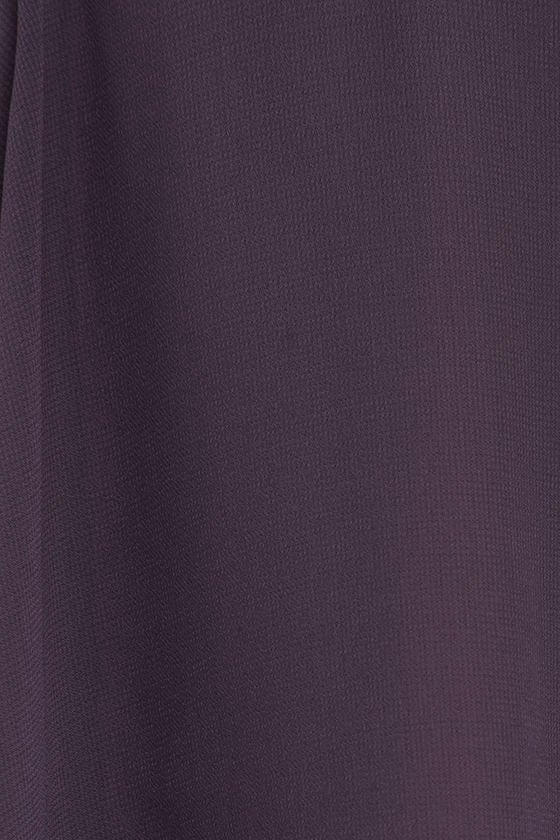 Forevermore Dusty Purple Skater Dress 6