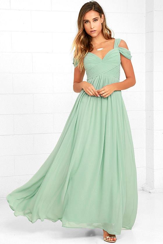 Mint Green Bridesmaid Dresses