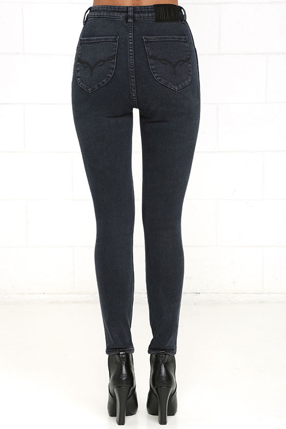 Rollas Eastcoast Ankle - High-Waisted Skinny Jeans - Ankle Skinny ...