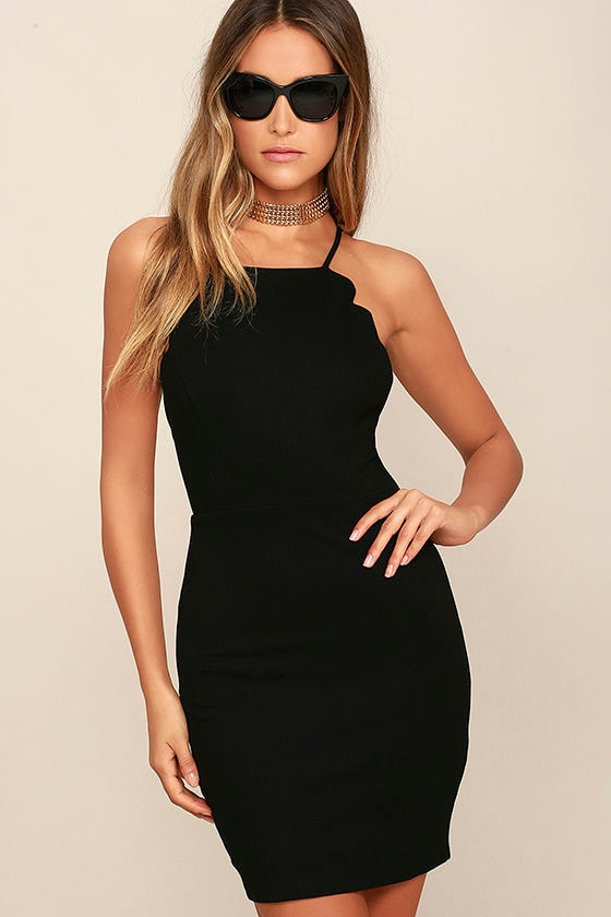 Sexy Black Dress - LBD - Bodycon Dress - Backless Dress - $54.00