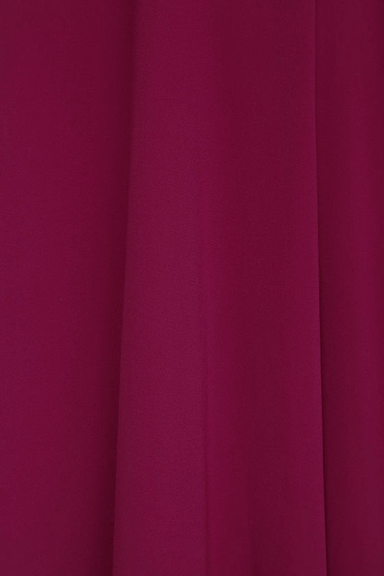 Strappy to be Here Magenta Maxi Dress 6