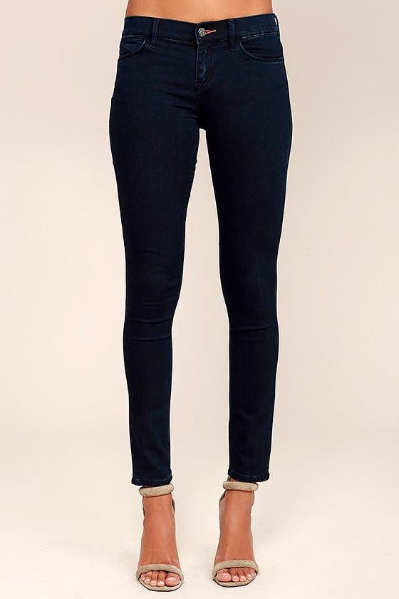 28820e5599b6 Dittos Selena Skinny Jeans - Dark Wash Skinny Jeans - Super Skinny ...